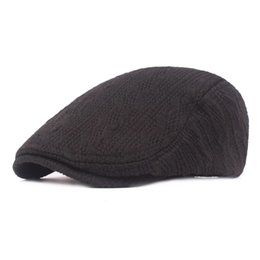 $enCountryForm.capitalKeyWord UK - Casual fashion wool caps Male autumn and winter berets Thick warm hats forward caps Men's knitted wool Casual