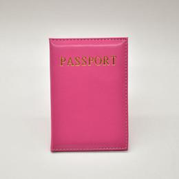 passport ticket holders 2019 - 2018 NEW Fashion Women Leather Passport Cover 6 Colors Travel Tickets Passport Case High Quality Holder discount passpor