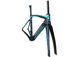 $enCountryForm.capitalKeyWord UK - taiwan made fasterway XR4 black blue color with gray carbon road frame bike frameset:carbon Frameset+Seatpost+Fork+Clamp+Headset