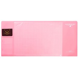 Stationery Australia - Soft Waterproof Desktop Pad Protector Organizer Office Supplies Large Stationery Holder Writing Accessories PVC 4 Colors