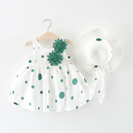 Cute Tutus For Infants Australia - Baby Girl Tutu Dress For Kids White Lace Frock Sleeveless Summer Cute Infant Toddler First Second Bithday Party 1 2 Year Holiday Y19061001