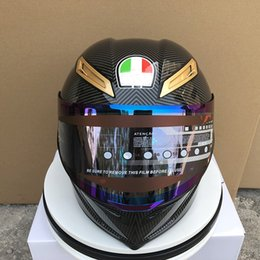 free full face helmets Canada - Free shipping gpr spoiler 70th Anniversity amotorcycle helmet fashion personality design casque racing full face helmet