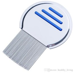 tooth products Australia - 2019 Stainless Steel Terminator Lice Comb Nit Free Kids Hair Rid Headlice Super Density Teeth Remove Nits Comb
