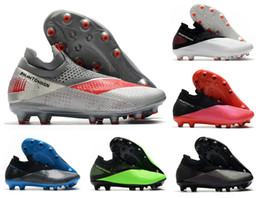 vision pro UK - New Phantom VSN Vision II Elite DF AG-PRO 2 2S Neighborhood Pack Mens High Ankle Soccer Cleats Football Shoes Size US6.5-11 .