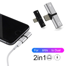 $enCountryForm.capitalKeyWord Australia - 2 in 1 Audio Adapter For Phone Connector Spiltter Charger Audio Headphone Adapter For Jack to Earphone AUX Cable Connector Converter