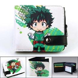 $enCountryForm.capitalKeyWord Australia - designer wallet purse Cute Anime Wallet naruto one Piece my Hero Academia Wallet Card Holder Coin Pocket Zipper & Hasp