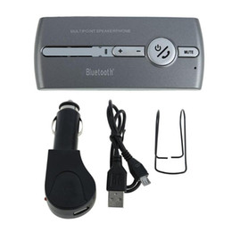 Wholesale Bluetooth Multipoint Speaker for Cell Phone Handsfree Car Kit Speakerphone