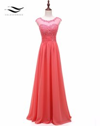 $enCountryForm.capitalKeyWord Australia - Solovedress Appliques Real Photos Cap Sleeves Beaded A Line Bridesmaid Dress Pleat Gown Elegant Vestidos De Fiesta Pv20002 SH190827