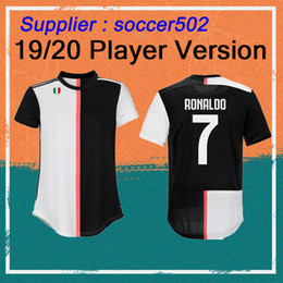 Wholesale Player Version RONALDO Soccer Jersey Home DYBALA MANDZUKIC Soccer Shirts BONUCCI football maillot uniform