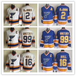 $enCountryForm.capitalKeyWord Australia - St. Louis Blues 16 Brett Hull Jersey 99 Wayne Gretzky 2 AL MacINNIS 44 Chris Pronger White 100% Stitched CCM Vintage Classic Hockey Jerseys