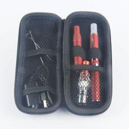 Ago Oil Kit Australia - Magic 3 in 1 vaporizer for liquid oil wax herbal with ago G5 MT3 glass globle atomizer EVOD battery starter kits E cigarettes