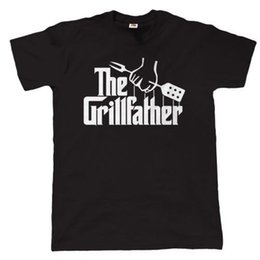 $enCountryForm.capitalKeyWord Australia - The Grillfather Mens Funny Bbq T Shirt Gift For Dad Christmas Short Sleeve Funny Design