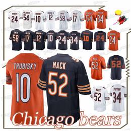 BEARS jersey 52 Khalil Mack 10 Mitchell 39 EDDIE JACKSON CHICAGO Roquan 58  Smith 2019 new men jerseys 59ae66fd4