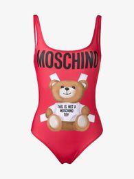 $enCountryForm.capitalKeyWord UK - MOSC Small Bear Designer fashion Swimwear Bikini For Women Letter Swimsuit Bandage Bi quinis Sexy Bathing Suit