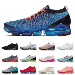 mens beach shoes UK - New running shoes for mens 2.0 3.0 Plus women triple black BLUE FURY Volt Souch beach PINK RISE sports sneakers trainers