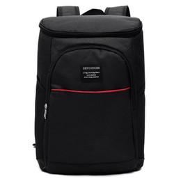 Picnic Backpacks Australia - Men's backpacks Large Capacity Waterproof Insulation Backpack Camping Picnic Insulated Cooler Women Travel Bagpacks