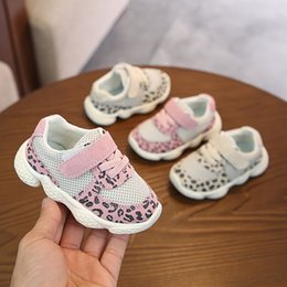Baby Shoes Dependable Kids Girl Leopard Baby Shoes Peony Flower Infant Toddler Crib Shoes 0-18months New Moderate Price Mother & Kids