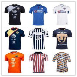 ccd885e1c1d 2019 Mexico LIGA MX Club America soccer Jerseys 18 19 20 Monterrey UNAM  Chivas Cruz Azul Cougar football shirt
