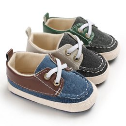 Wholesale new designer baby shoes casual baby boy shoes toddler shoes Moccasins Soft First Walking Shoe newborn shoe infant shoe A6193