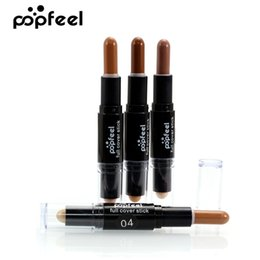 cover highlights 2019 - Popfeel 100% Full Cover Highlight Concealer Trimming Stick Face Foundation Makeup Base Concealer 3D Face Contour Makeup