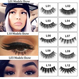 $enCountryForm.capitalKeyWord Australia - 4 pairs natural false eyelashes fake lashes long makeup 3d mink lashes eyelash extension mink eyelashes for beauty