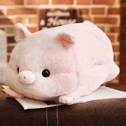 Hottest Love Dolls NZ - Hot sale wholesale pig year mascot love pig doll warm hand cushion cushion plush toys can be processed and customized