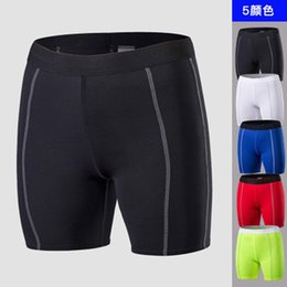 wearing compression shorts NZ - 2018 Gym shorts female sport shorts sports wear for women workout fitness seamless compression Slim Running Yoga Shorts #20898