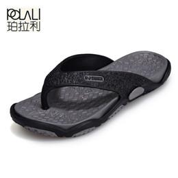 58da5e0cdc08 POLALI Mens Flip Flops Summer Men s New Style Rubber Soft Shoes Outdoor Beach  Men s Slippers Massage Men Footwear 2018