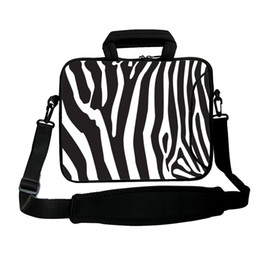 Viviration Zebra Messenger Handle Carry Bag Mens Womens Laptop Laptop Tracolla Valigetta Fit 10/12/13/14/15/17 Computer