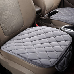 Auto Seat Warmers Australia - 1piece New Car Seat Covers Protector Mat Auto Front Seat Cushion Fit Most Vehicles Seat Covers Non-slip Keep Warm car cover