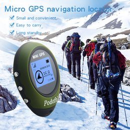 gps tracking sports 2019 - G0077 GPS Tracker Mini Portable Handheld Keychain GPS Tracking Tool Pathfinding Locator Compass for Outdoor Sport Travel