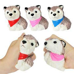 Cute Gadget Australia - Cute Fidget PU husky dog toys Squishy Slow rebound squishy Simulation Funny Gadget Vent Decompression toy