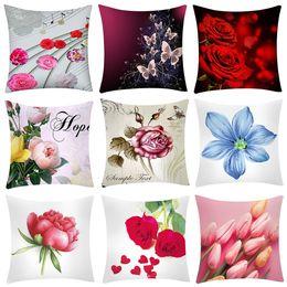 $enCountryForm.capitalKeyWord Australia - Gifts for christmas Flower pillow covers decorative christmas pillow cover 45x45cm new Cushion case pillow case