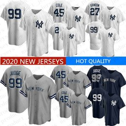Discount don mattingly jersey 2020 New Baseball Jersey Aaron Judge Derek Jeter Gerrit Cole Gleyber Torres Don Mattingly Gary Sanchez Mariano Rivera St