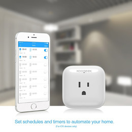$enCountryForm.capitalKeyWord Australia - Wifi Smart Wall US Plug Wireless Home Switch Power Sockets Voice Remote Control by Smart Phone for Amazon Alexa Google