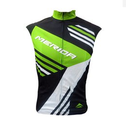 factory direct jerseys UK - MERIDA team Cycling Sleeveless jersey Vest Summer mtb racing bike wear Outdoor Sports maillot Ropa Ciclismo factory direct sale U62629