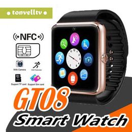 $enCountryForm.capitalKeyWord Australia - GT08 Bluetooth Smart Watch Fashion Square Smartwatches Support SIM Card TF Card Facebook Music Player For Android Phones