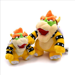 Discount video game plush mario - Super Mario Stuffed Animal Dolls Super Mario Bowser Koopa Plush Dolls Bowser Koopa King Plush Toy super mario toys Xmas
