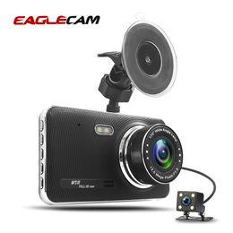 $enCountryForm.capitalKeyWord Australia - Dual Camera Full HD 1080P With Rearviews Two Lens Car Dvr 4.0 inch screen T689 Dvrs Mirror Auto Video Recorder Night Version