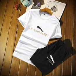 Suit Cars Australia - Summer Designer Tracksuits for Men with Leopard Pattern Two-piece Tshirts&Shorts Suits Car Brand Men's Sports Track Suits Plus Size M-4XL