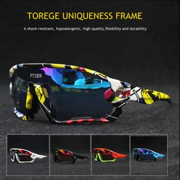 bicycle eyewear Australia - Promotion Cycling Glasses UV400 Bicycle Sunglasses Outdoor Sports Bike Eyewear Riding Goggles Fishing Hiking Sun Glasses