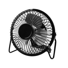 fan pc china 2019 - Mini Portable USB Fan Desk Cooling Fan Quiet Summer Tablet Home Office Use For Computer Laptop PC Plug & Play Metal Cool