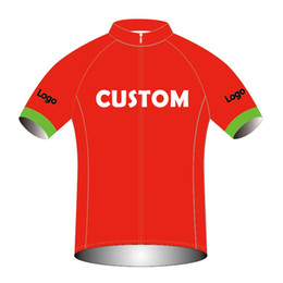 Wholesale shirt customize for sale - Group buy 2020 Customized Cycling Jersey Quick Dry Bike Shirt Mtb Jerseys Any Design color size You Can Choose Factory Direct Sale