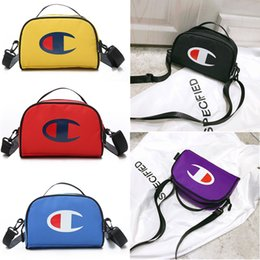 Crossbody baCkpaCk handbag online shopping - Women s Champions Handbag Belt Fanny Pack Crossbody Shoulder Bags Oxford Waterproof Chest Waist Bags Adjustable Backpacks Travel Totes C5100