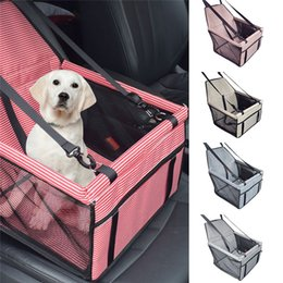 $enCountryForm.capitalKeyWord Australia - New Pet Stripe Seat Car Seat Clip-On Safety Leash And Zipper Storage Pocket Car Travel Accessories &4jj26