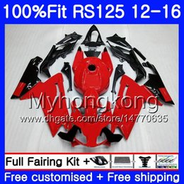 Rs 125 abs faiRing kit online shopping - Injection OEM For Aprilia RS RS125RR RS4 HM RSV125 RS RS125 Fairing kit top Glossy red