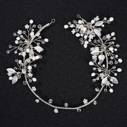 $enCountryForm.capitalKeyWord Australia - New arrival silver leaves beautiful arty gift hair accessories wedding jewelry unique design for girls headpieces headband