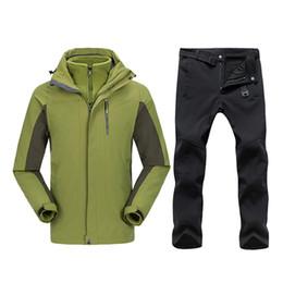 5c9d13ab6ab Plus Size Ski Jackets NZ - Plus Size Men Skiing Ski-wear Waterproof Hiking  Outdoor