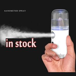 Wholesale Portable Nano Sprayer Milk Perfume Alcohol Nebulizer Cool Facial Body Spray Travel Moisturizing Tender Skin Beauty Skin Care Tool