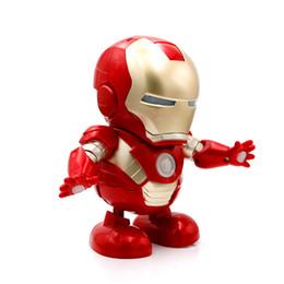 $enCountryForm.capitalKeyWord UK - CRESTECH DANCE HERO 2019 Dancing Iron Man Marvel Fingers Avengers Toys with Music , for Child Boys Girls Gift